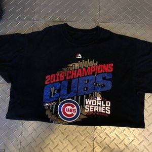 Chicago Cubs 2016 Champion Collector Tee